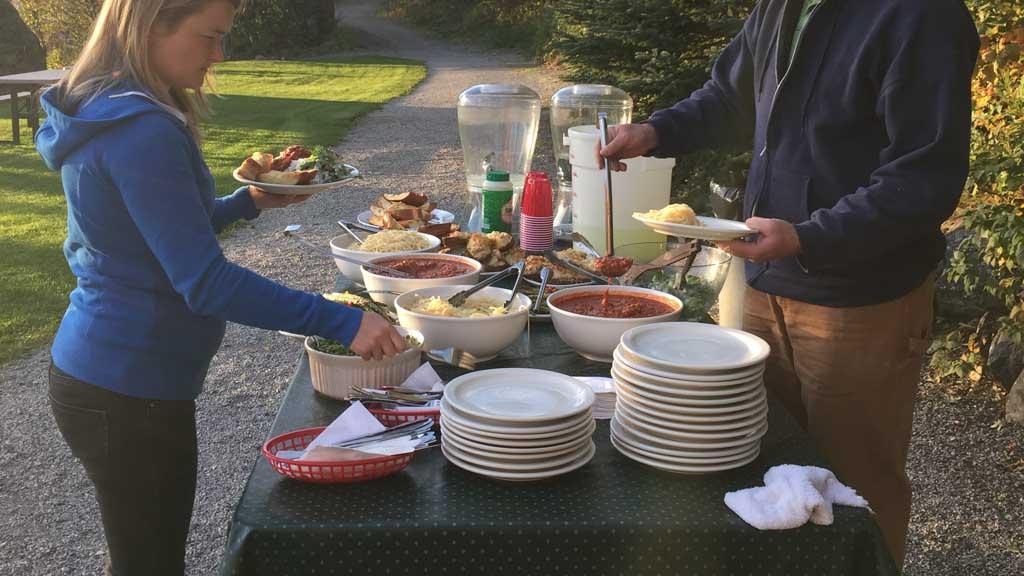 american culture meals