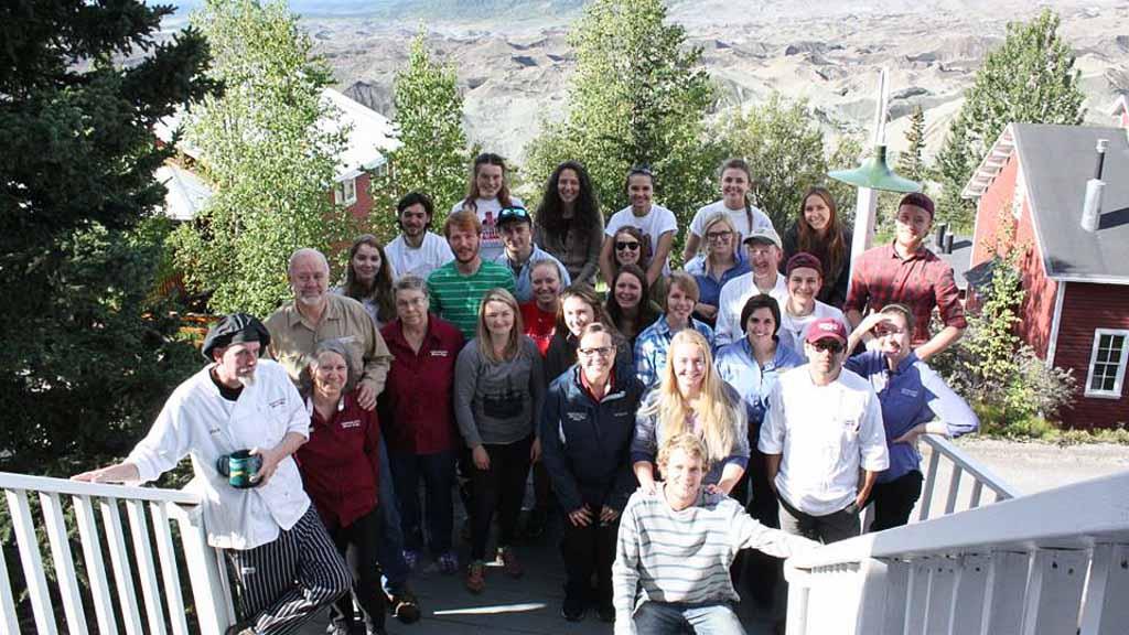 kennicott glacier lodge staff 2016
